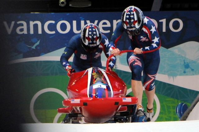 Guard athlete finishes sixth in women's bobsled