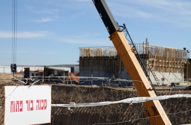 USACE manages military construction in support of Israeli Air Force