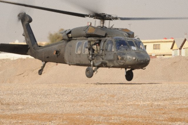 The Army's new high-tech UH-60 Black Hawk M-model helicopter -- equipped with a stronger engine, a digital cockpit and composite rotor blades -- performed exceptionally well in Afghanistan during its first major combat deployment.