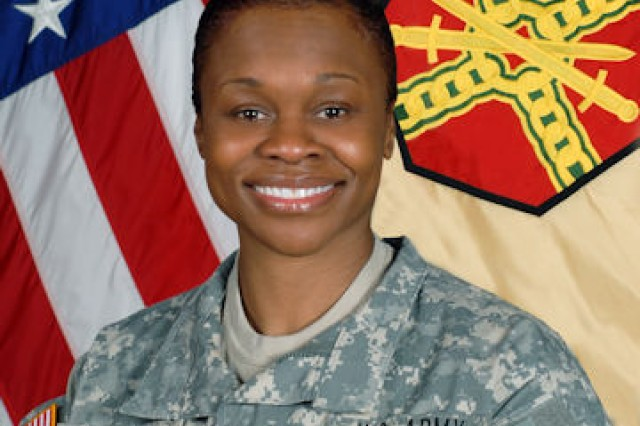 Command Sgt. Maj. Tracey Anbiya