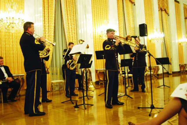 The US Army Band Heads to Russia