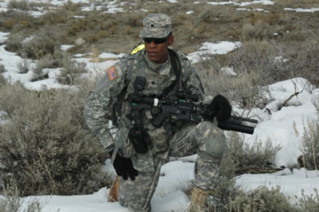 Land navigation course offers infantrymen first taste of Utah terrain