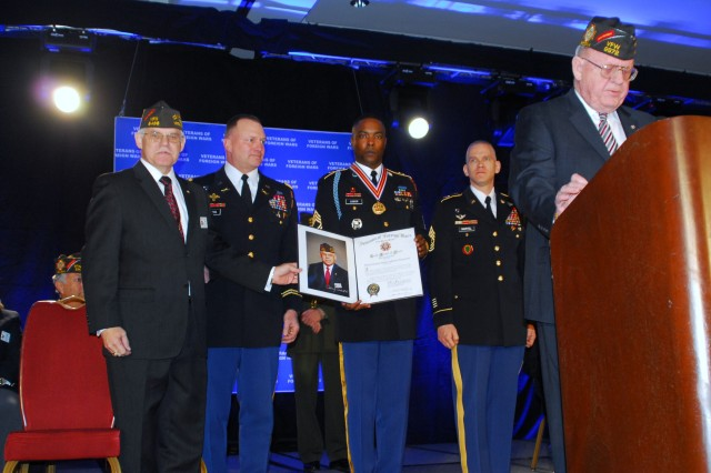 VFW awards Gold Medal of Merit to TOG