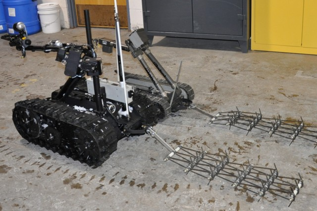 The U.S. Army will unveil the newest technology to assist Soldiers in finding and disarming improvised explosive devices during the National Defense Industry Association's Ground Robotic Capabilities Conference and Exhibition in Miami, Fla., March