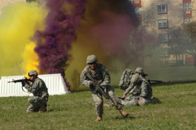 Combat medic scenario
