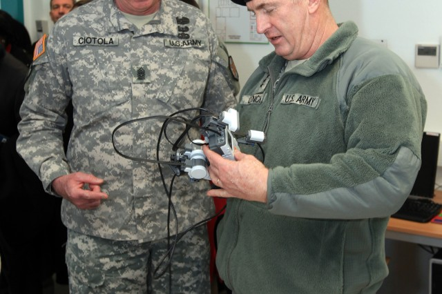Lt. Gen. Rick Lynch visits Installation Management Command-Europe