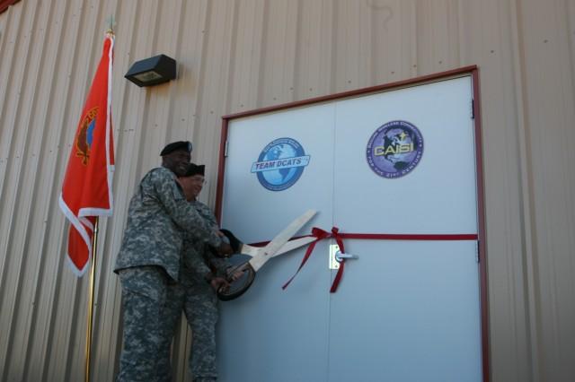Ceremony commemorates new building on post