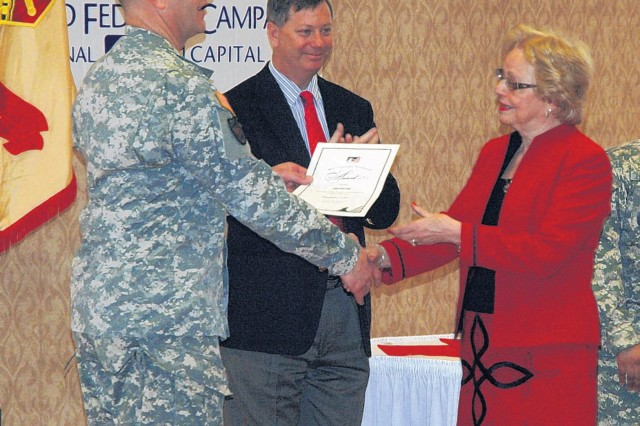 Belvoir wraps up 2010 CFC with awards ceremony