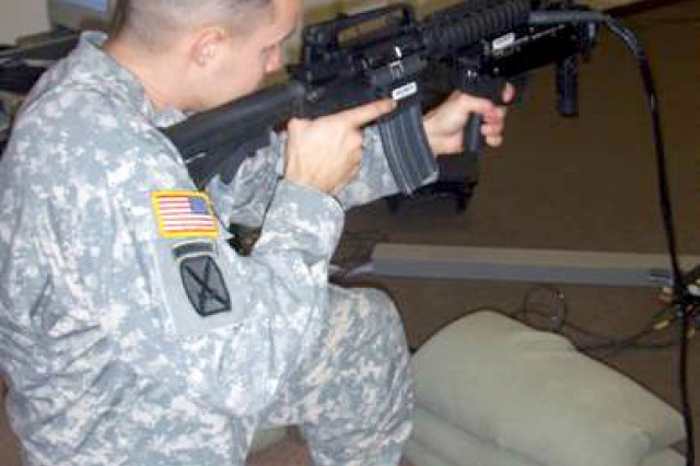 1-87 Infantry Soldiers train for deployment
