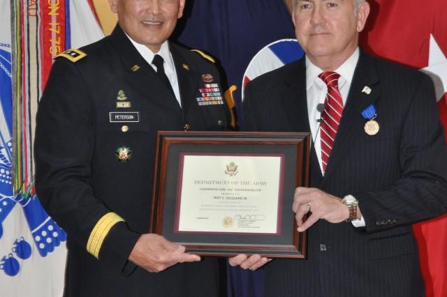Army Bids 'Gil' Gilleland Farewell