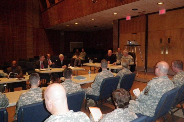 Maj. Gen. Karl Horst Address Army Band Leadership