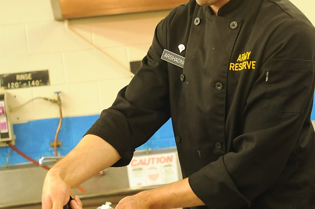 Behind the Scenes with the Army Reserve Culinary Team