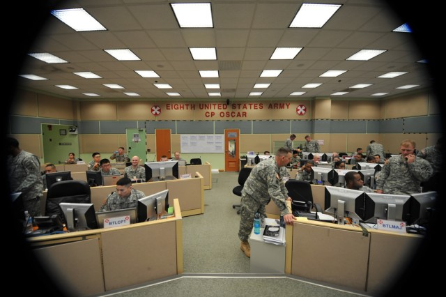 Eighth (Field) Army Soldiers participate in Key Resolve/Foal Eagle 2010.