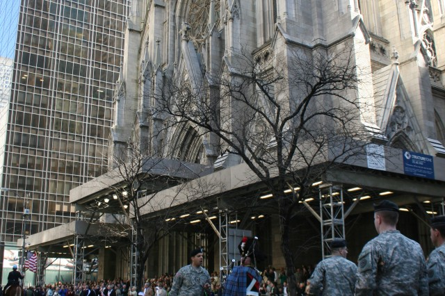 National Guard Leads St. Patrick's Day Parade in NYC