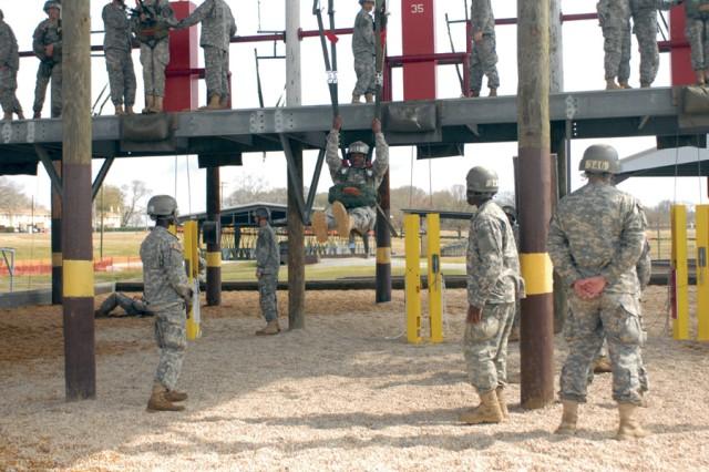 Potential paratroopers tackle Tower Week