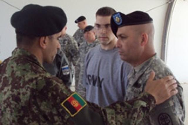 Afghan enlisted leaders visit JRTC and Fort Polk