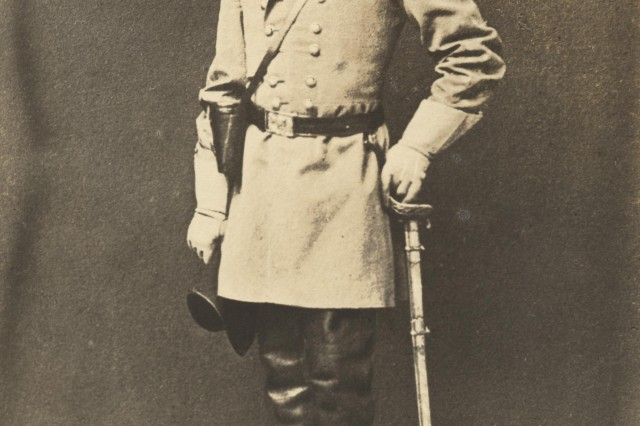 General Robert E. Lee, commanding the Army of Northern Virginia (MOLLUS, USAMHI)