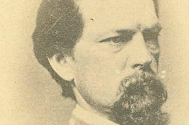 Major General John B. Gordon, commanding the II Corps, Army of Northern Virginia (MOLLUS, USAMHI)