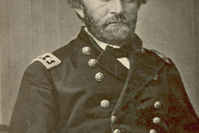Lieutenant General Ulysses S. Grant, General-in-Chief of the Union Army (MOLLUS, USAMHI)