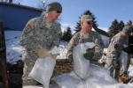 Guard helps with flood control in North Dakota