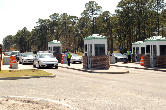 Fort Stewart gate construction