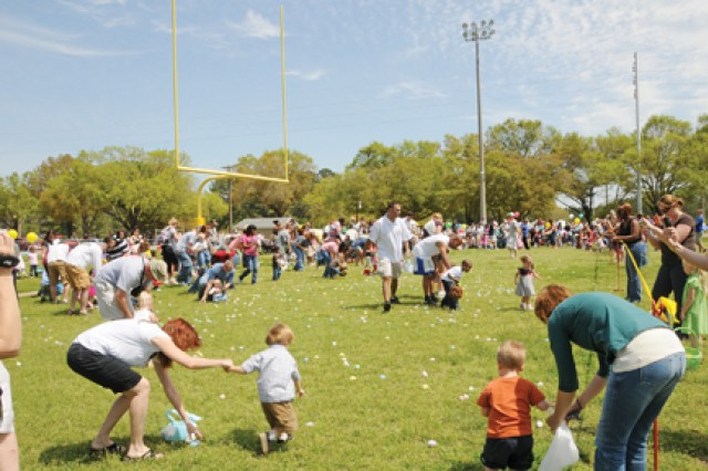 Fort Rucker Children's Festival kicks off Easter festivities