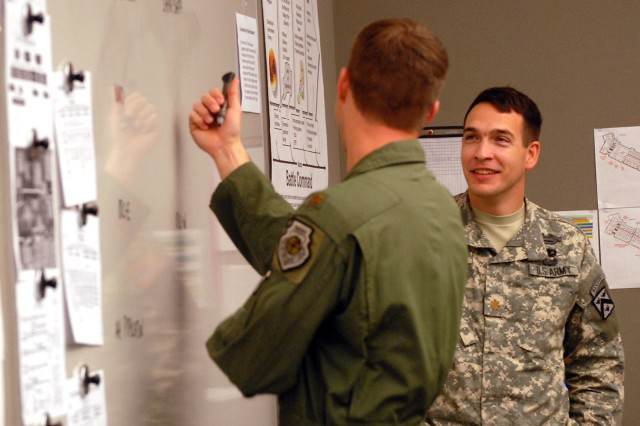 Exercise blends joint, interagency, international elements
