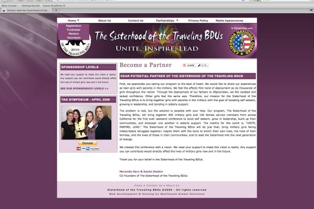 Sisterhood across the services