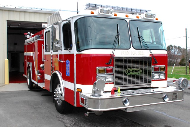 Fire Engine #7, a 1999 E-1 Fire Truck, was refurbished to meet 2010 standards. Refurbishing Engine #7 took six months and added a new 750-gallon water tank, a 50-gallon foam tank, a scene-lighting system and a completely rebuilt water pump, engine and transmission.