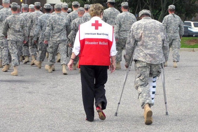 The Red Cross has helped servicemembers and their families since the 1800s.