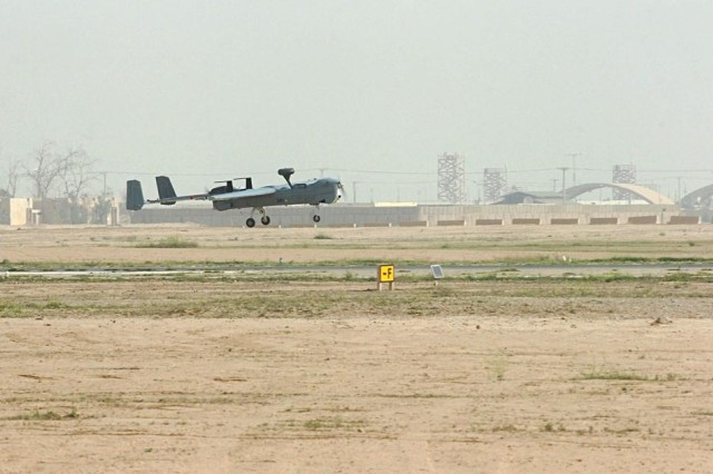 Task Force Wing's Hunter provides 'eyes and ears' on the battlefield in northern Iraq