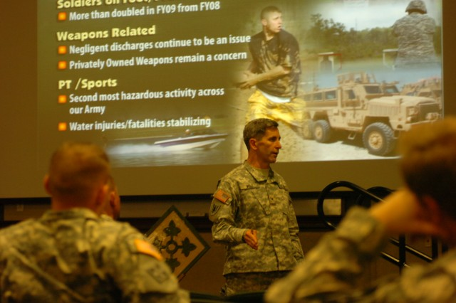 Director of Army Safety visits Fort Carson, Colo.