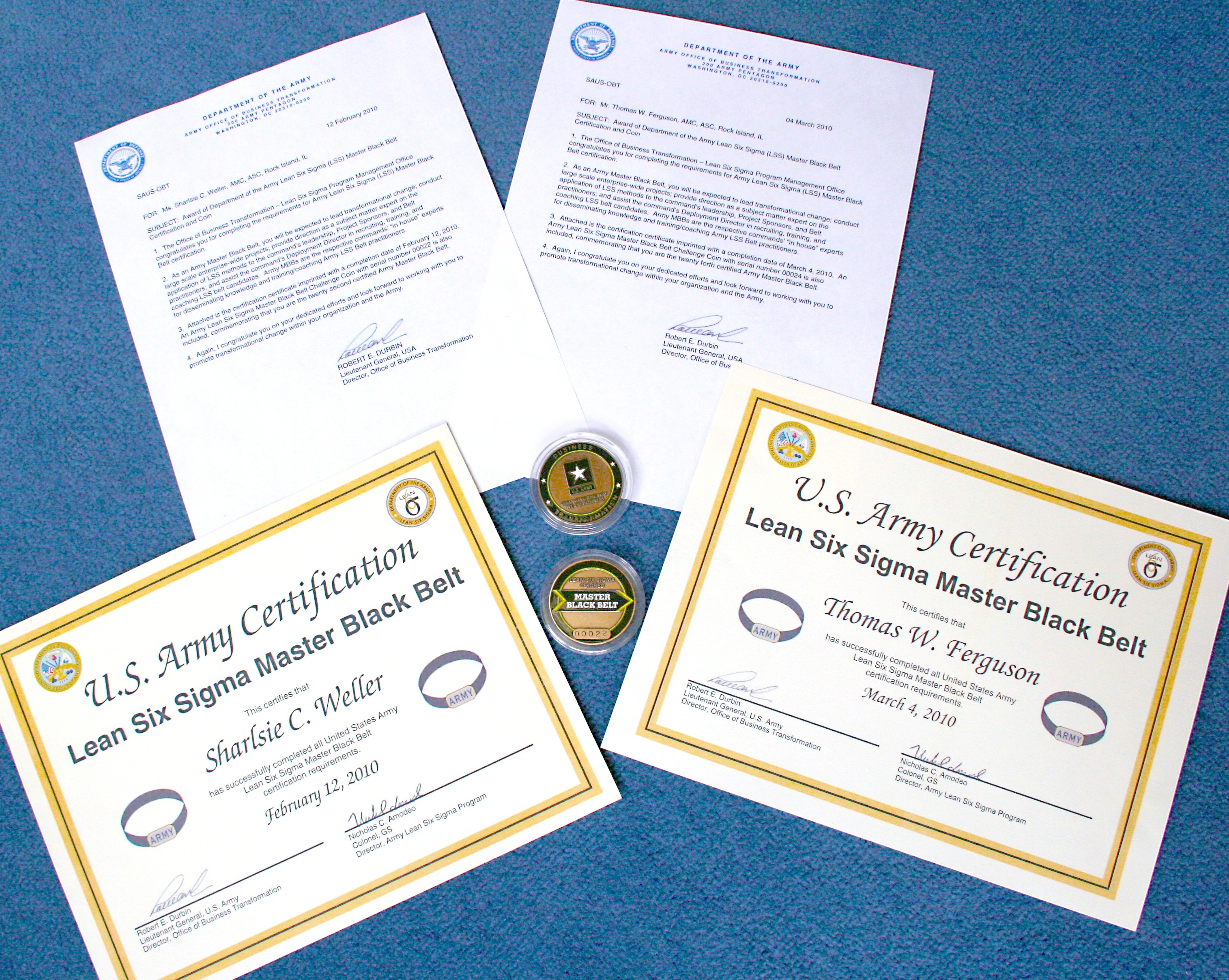 Two asc personnel earn lean six sigma master black belt two asc personnel earn lean six sigma master black belt certification xflitez Images