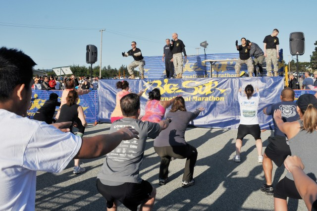 PRESIDIO OF MONTEREY, Calif. - The fifth annual Big Sur Mud Run brought over 2,000 participants, more than previous years, to the Freeman Stadium of California State University Monterey Bay in Seaside March 27.