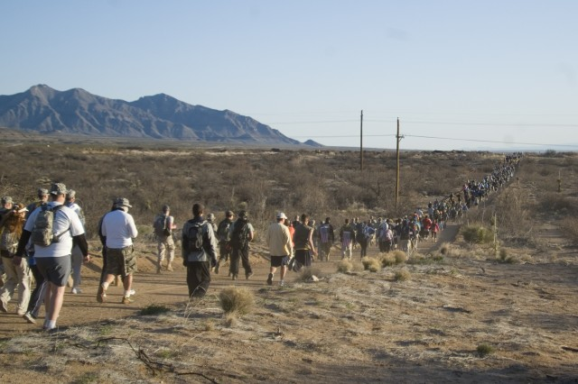 NY Troops Participate in Bataan Memorial Death March