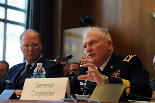 Army Guard director testifies to Senate