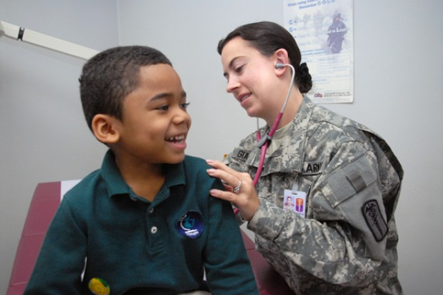 Red Cloud Garrison TMC offers Pediatrics Wellness Clinic