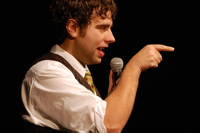 Comedian Jay Black opened the show and had the crowd in stitches with his self-deprecating humor.