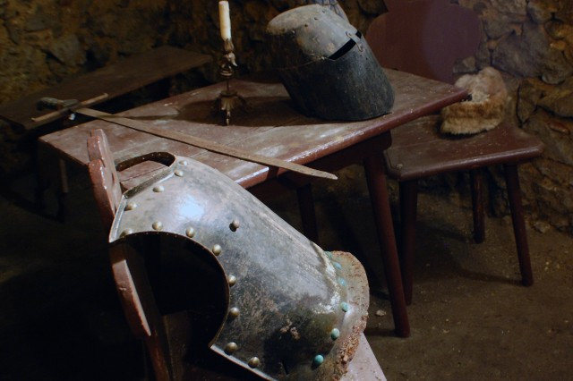 Within the castle walls of Burg Pottenstein, there is a wonderful collection of medieval weaponry to peruse.