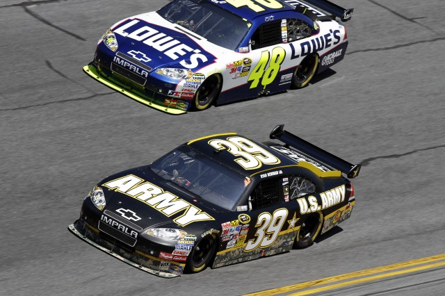 Newman in Daytona