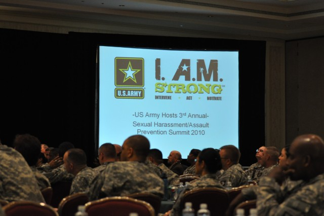 The 2010 Annual Army Sexual Harassment/Assault Response and Prevention Summit, March 29- April 1, featured Army leaders urging commanders to help stop sexual harassment and assault.