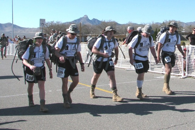 Irwin Army Community Hospital excels at Bataan Memorial Death March