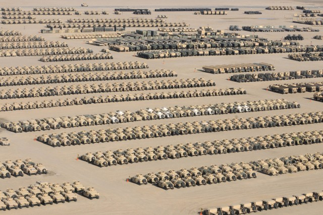 More than third of equipment now out of Iraq