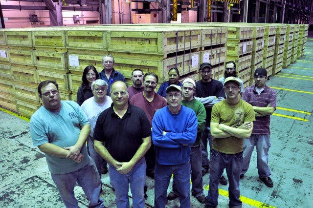 Watervliet Arsenal's Face-of-Strength
