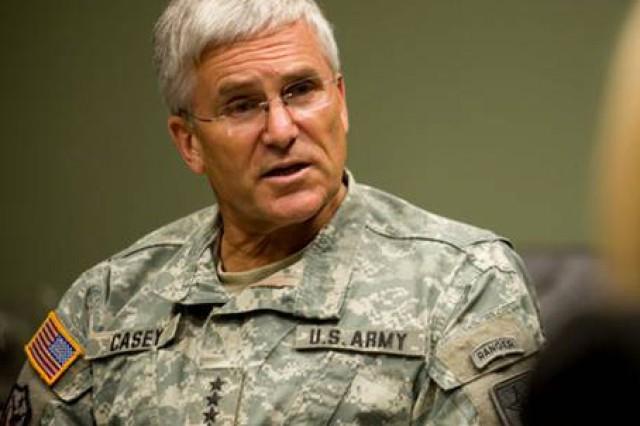 CSA speaks at Army Leader Forum