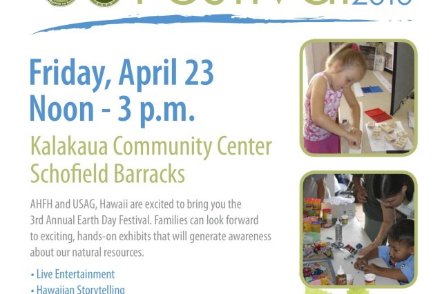 Family Housing hosts Earth Day Festival