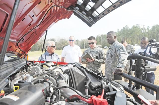 Fort Rucker Fire Department receives new vehicles