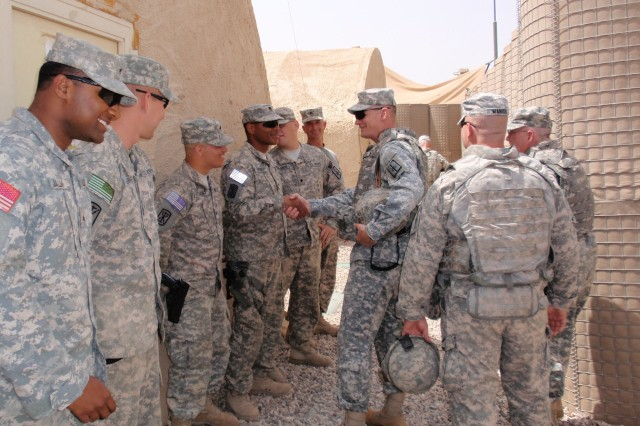 New York National Guard Commander Visits Troops in Iraq