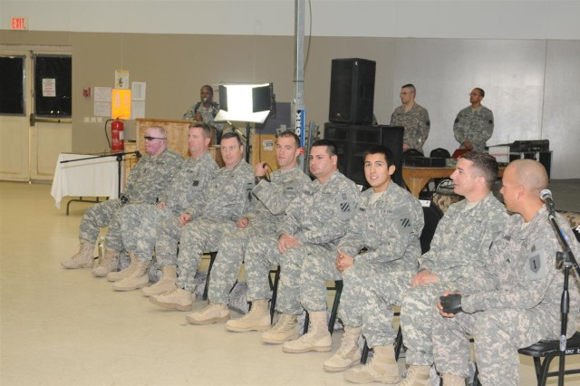 Formerly wounded Soldiers mentor service members at JBB