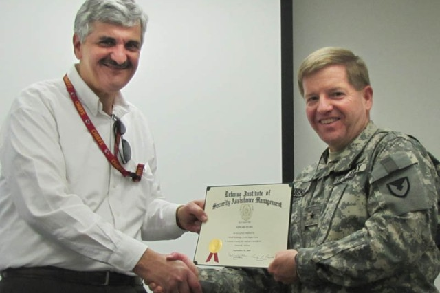 Edward Fulda, Completion of the Missile Technology Control Regime Course